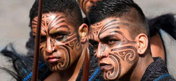 浅聊毛利人的文面艺术