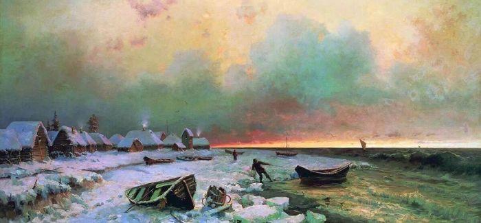 百幅俄罗斯油画亮相中国北疆