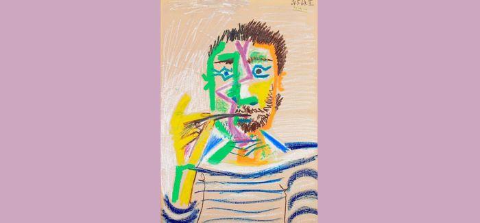 毕加索《吸烟男子半身像》12月亮相纽约拍场