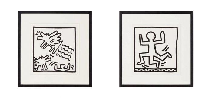 凯斯・哈林《无题(二十三幅作品)》上拍苏富比