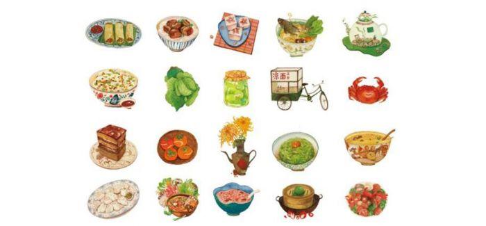 把二十四节气做成24道菜