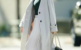 长长短短 短短长长 看大衣+半裙的正确打开方式