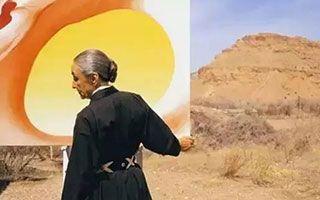 独居大漠40年 画了一朵2.86亿的曼陀罗