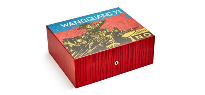 法国工坊联袂中国艺术家推出艺术雪茄盒