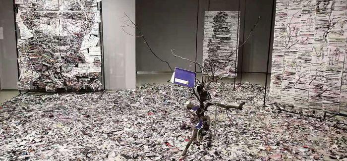 """""""首届济南国际双年展""""于山东美术馆开幕"""