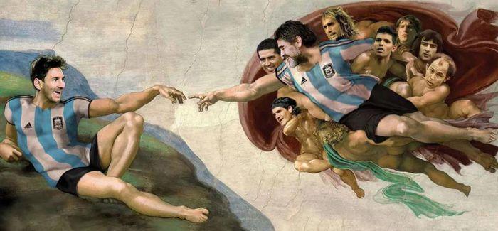 迭戈·马拉多纳给艺术带来的灵感和激情