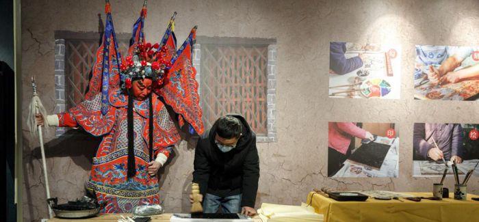 国家级非遗滑县木版年画展亮相北京恭王府