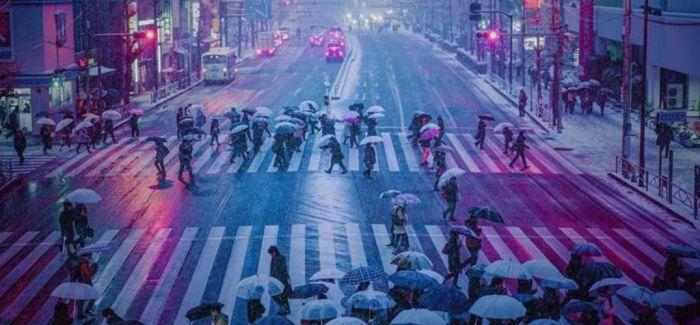 我眼中的东京街头