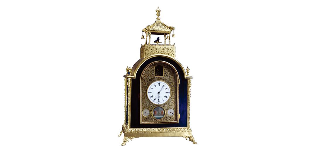 紫禁城里的苏州制钟