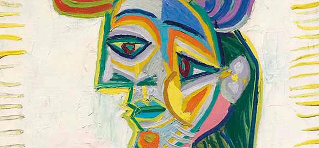 """毕加索的""""碎片美女"""""""
