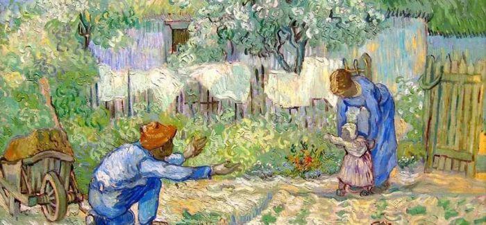 看艺术家们如何在书画中表现亲情