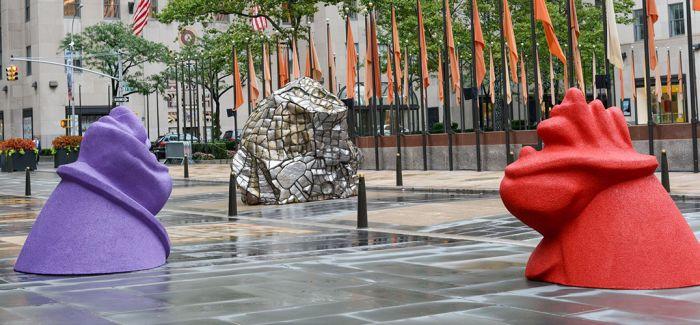 """穿插于""""市民空间""""中的雕塑在讲述怎样的故事"""