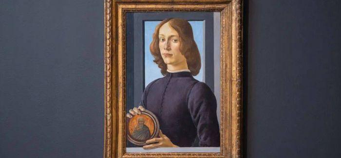 《手持圆形圣像的年轻男子》以9218万美元成交