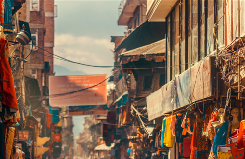 孟加拉达卡的街头