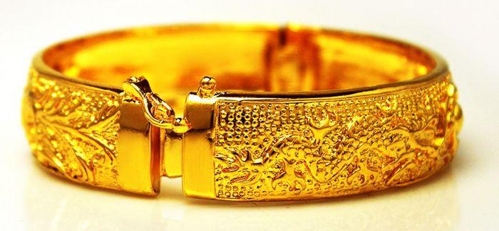 黄金首饰空心 实心和镂空的价值