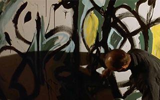 探索杰克逊·波洛克有意为之的绘画过程