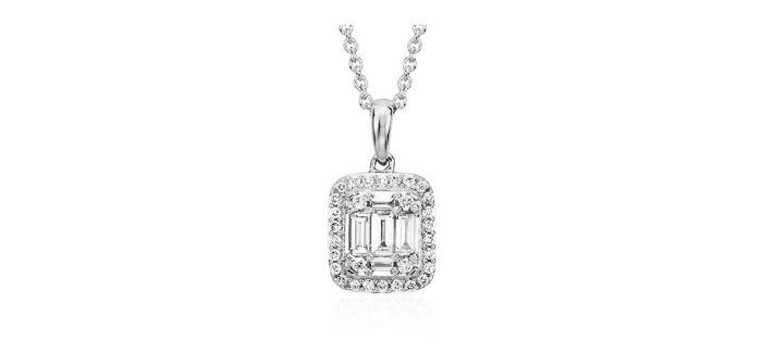钻石吊坠:不同的款式 不同的寓意