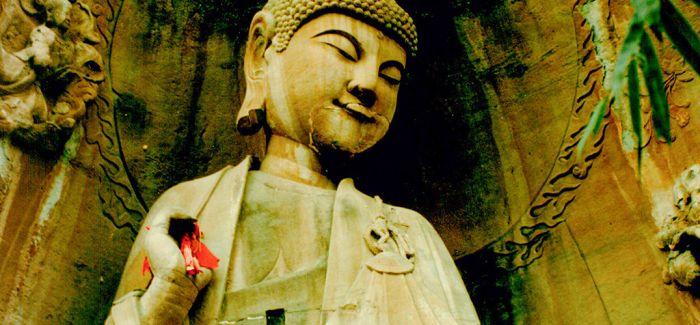 佛祖的微笑
