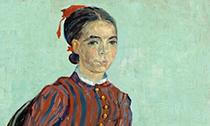 《莫斯梅半身像》:梵高笔下的神秘少女