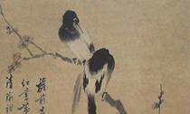 在《红梅喜鹊图》中品读文人画的铮铮傲骨