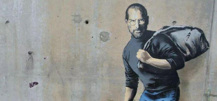 """当充满争议的涂鸦摆脱街头成为""""正规军""""..."""