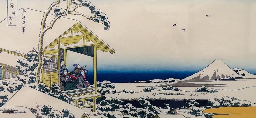 浮世绘中的江户