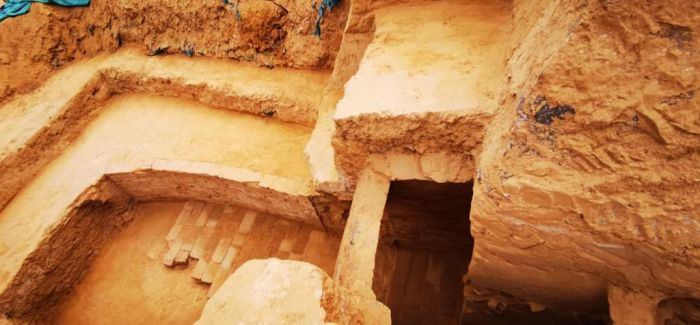 郑州闹市发现四座古墓 元代曾遭盗扰