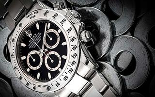 不锈钢DAYTONA等众多腕表登陆名表网上专拍