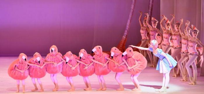 比电影更精彩的芭蕾舞剧《爱丽丝梦游仙境》来啦!