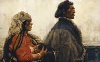 西藏组画 重溯雪域高原封存的纯真