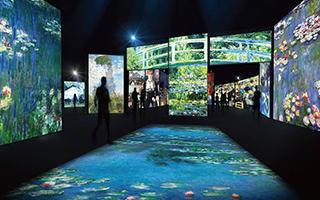 """光影体验展:莫奈与印象派画家们的""""狂欢"""""""