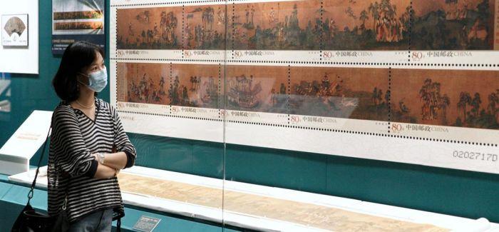 邮票与文物同框 故宫主题邮票特展开幕