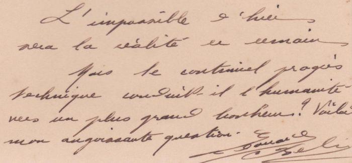 爱迪生 比尔·盖茨...名人手迹长啥样?