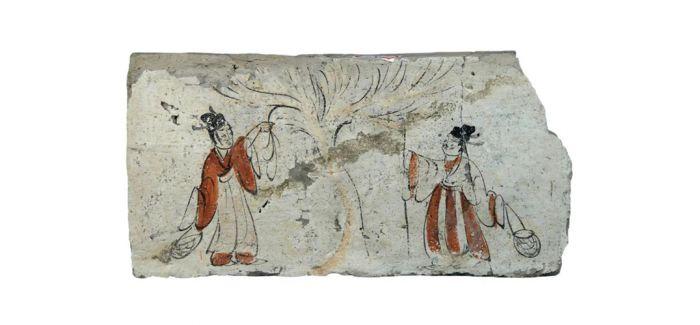 258件(套)河西画像砖国博展出