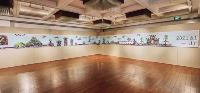 30米《数字江山图》亮相北京 开创数字艺术新纪元