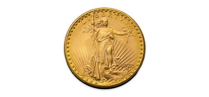 1.2亿人民币!一枚1933年美国双鹰金币创纪录