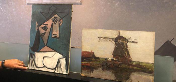 9年前失窃的毕加索作品《女人头像》被寻回