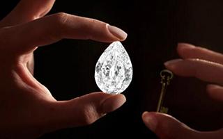 101.38克拉梨形D色巨钻以9510万港币成交