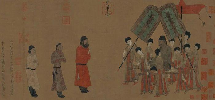 """中国古代服饰的色彩于""""礼""""有何意义?"""