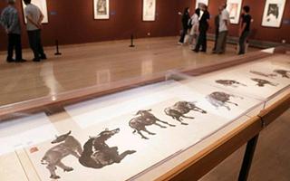 70余幅李可染画作亮相中国美术馆